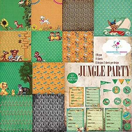 jungle party 6x6