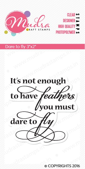 Dare to fly - SIZE 3X2